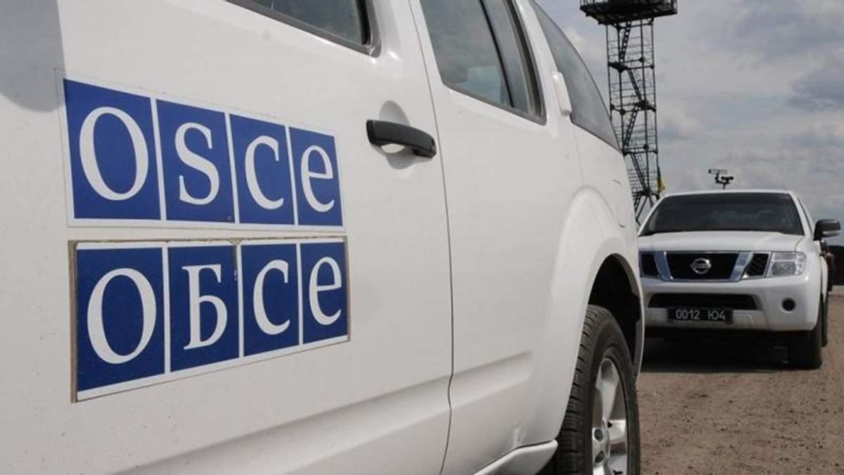 СММ ОБСЕ зафиксировала 56 единиц тяжелого вооружения на Донбассе