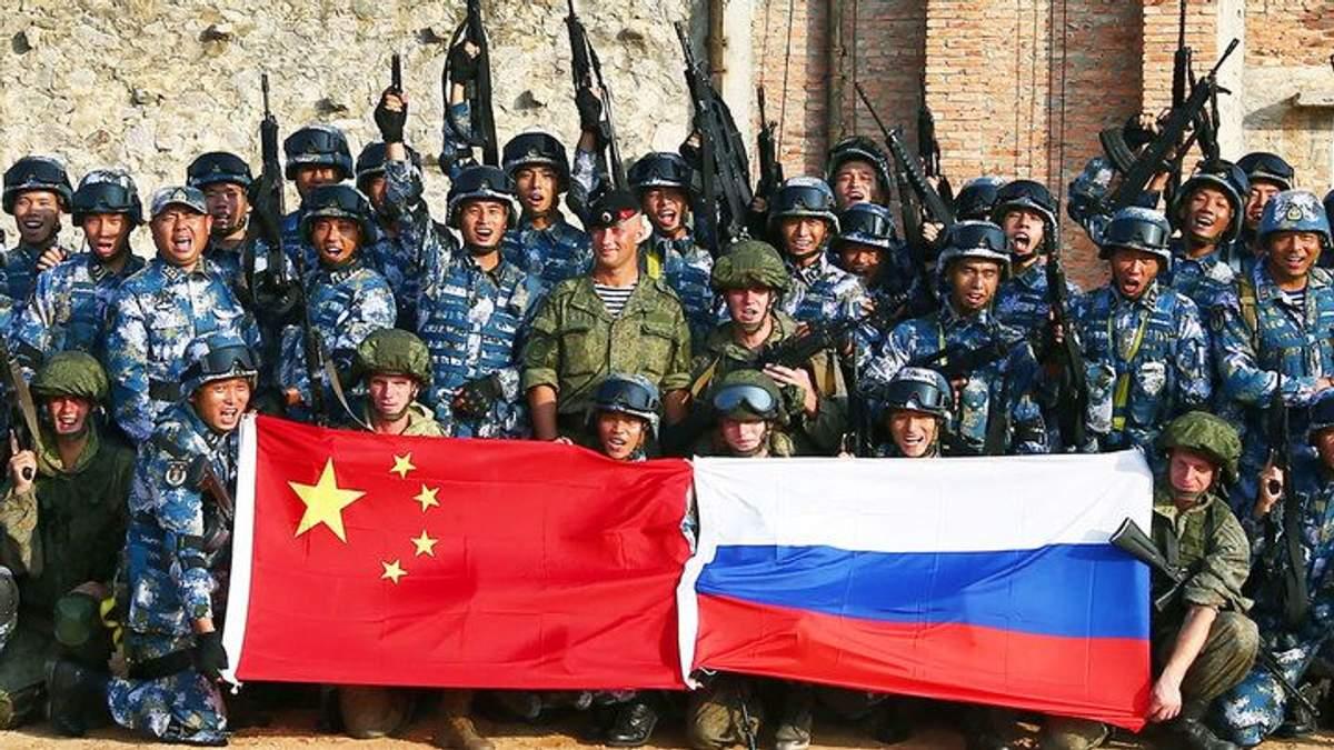 """Военные России и Китая на маневрах """"Восток-2018"""""""