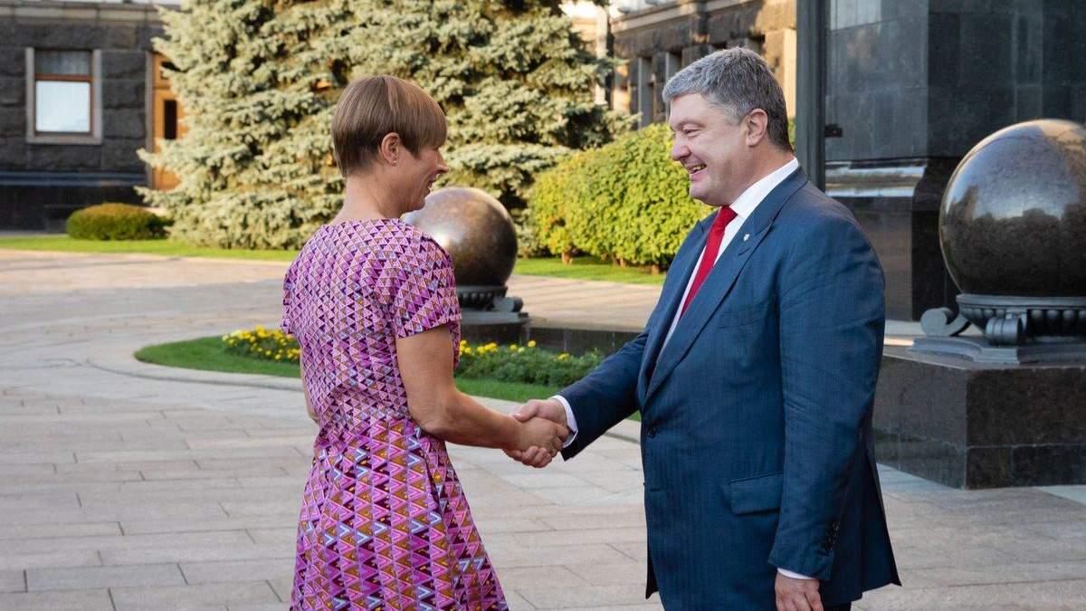 Порошенко зустрівся з президентом Естонії: відомі теми розмови