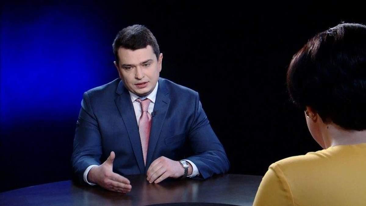 Сытник вспомнил одеяло Насирова и сказал, что будет делать, если Луценко подпишет ему подозрение