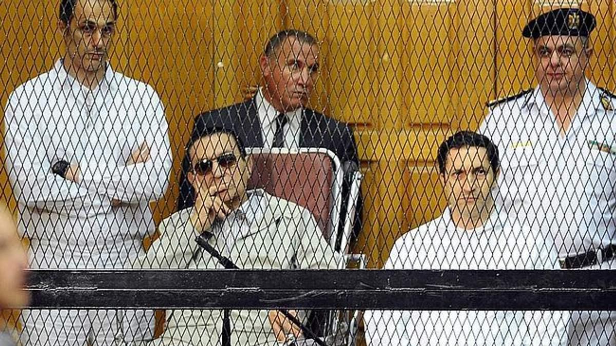 Арест сынов экс-президента Египта