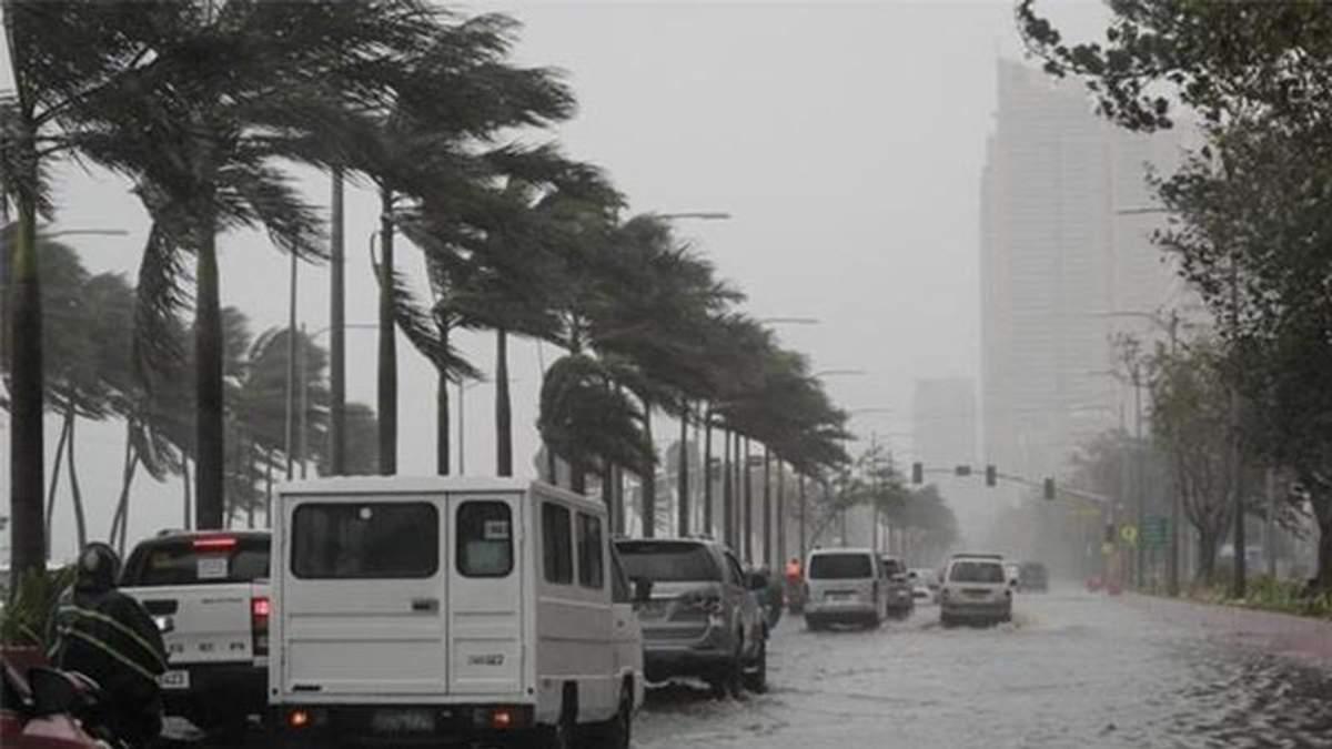 Тайфун Мангхут в Филиппинах: погибли 30 шахтеров - детали тайфуна