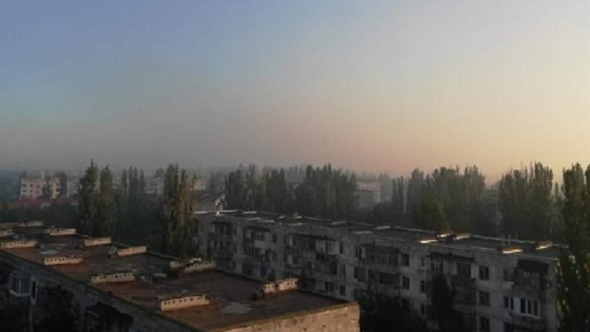 Химвыброс в Армянске: жители оккупированного Крыма паникуют из-за кислотного тумана