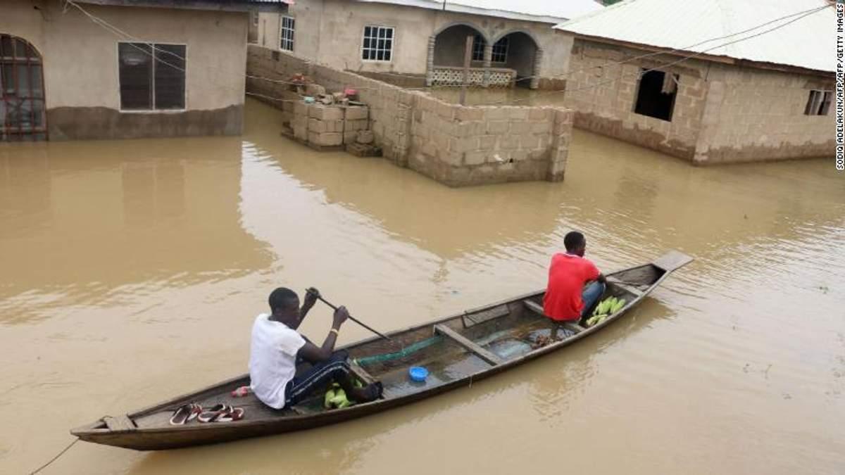 """Смертельні повені у Нігерії: в країні оголосили """"національну катастрофу"""""""