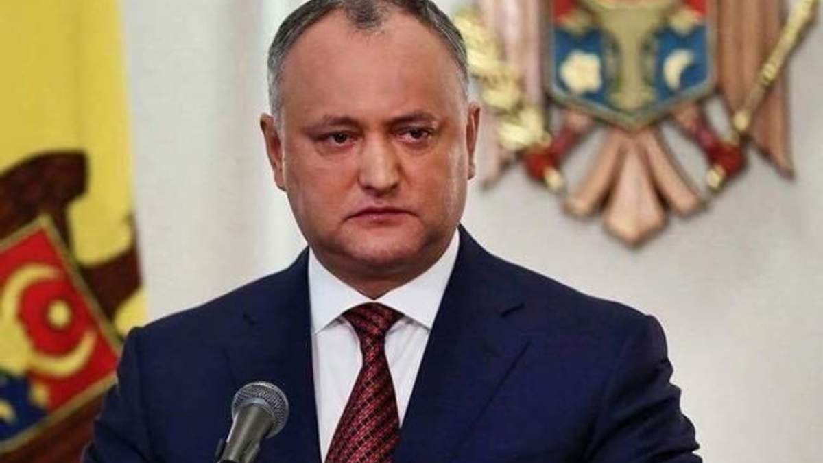 Пророссийского президента Молдовы отстранили от должности