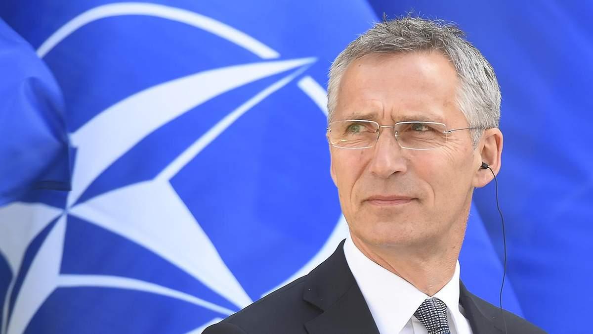 Столтенберг натякнув, що не Росія вирішуватиме, чи вступати Україні в НАТО