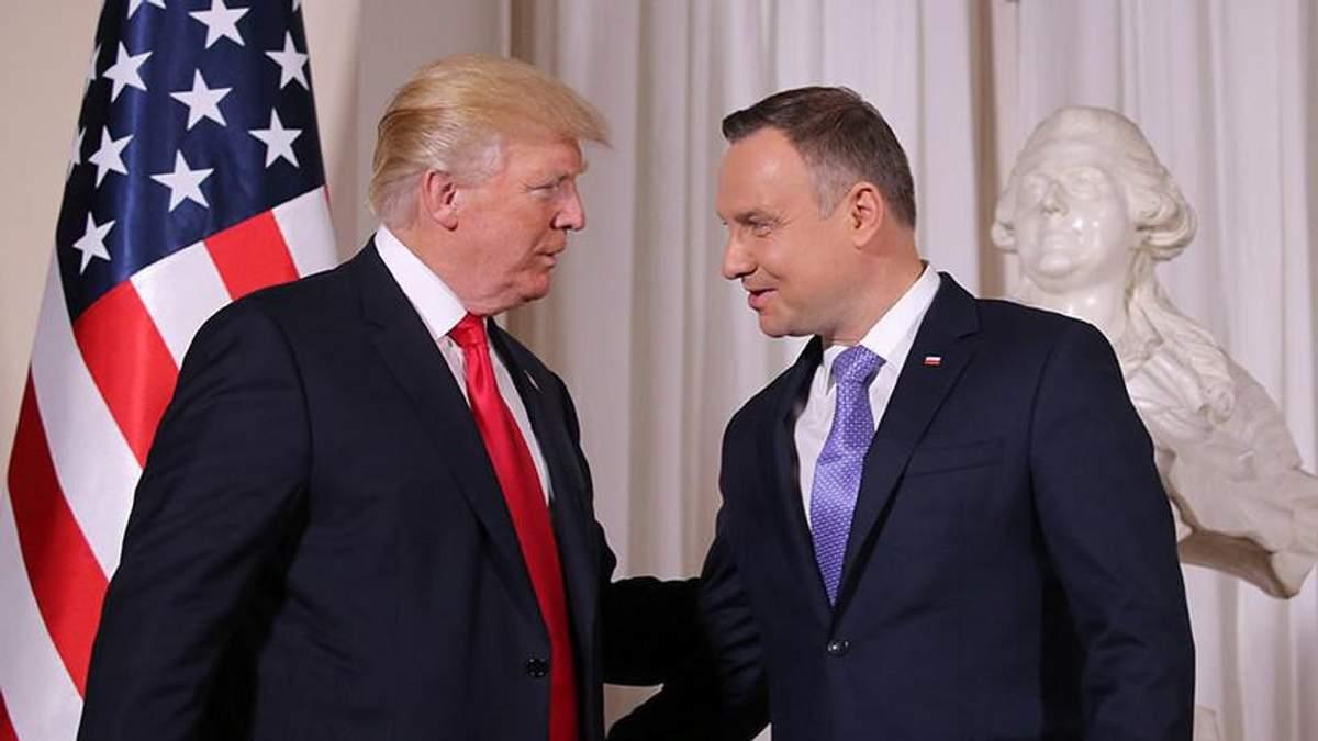 У Кремлі заявляють, що американська база в Польщі загрожує країні