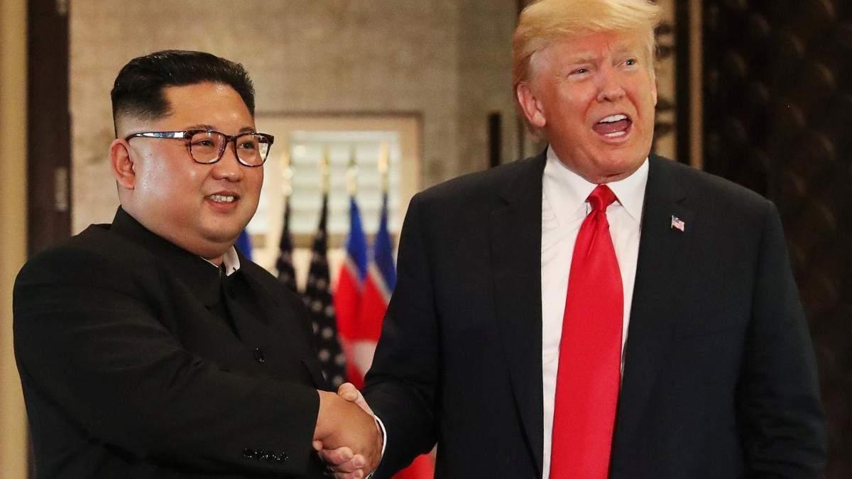 Коли може пройти друга зустріч Трампа і Кім Чен Ина: Помпео назвав дату