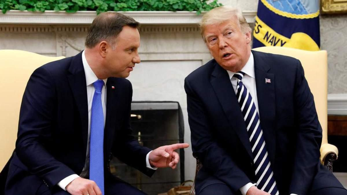 Білорусь запанікувала через розміщення бази США у Польщі