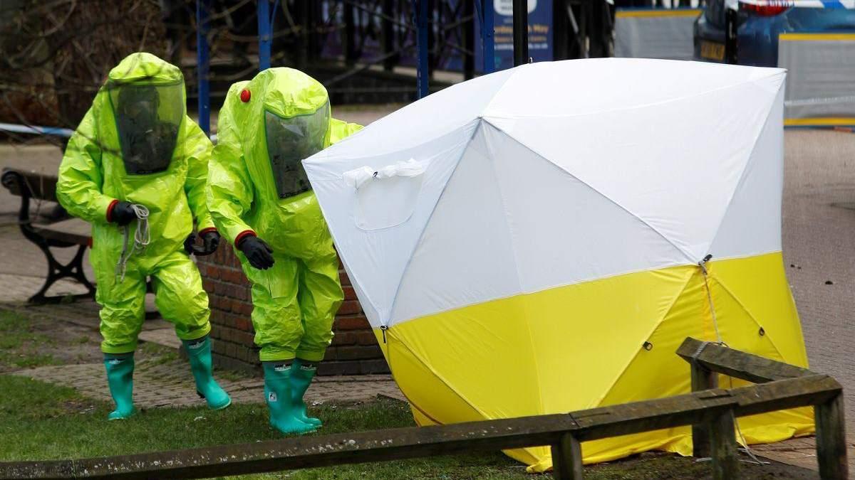 Британська поліція встановила особистість третього отруювача Скрипалів