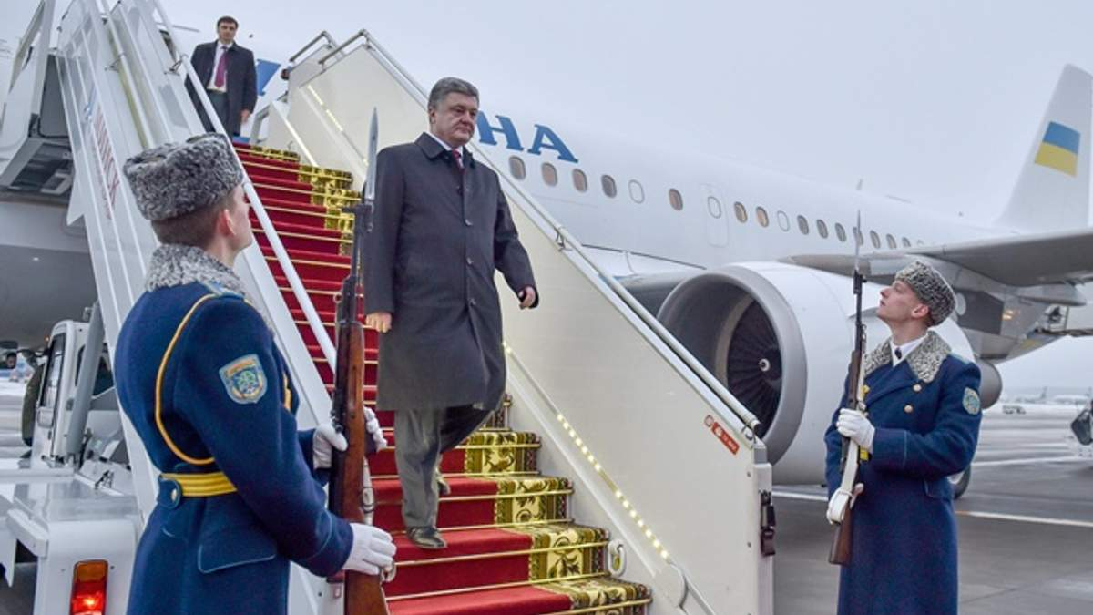 Сколько стоил полет Порошенко в США на Генассамблею ООН