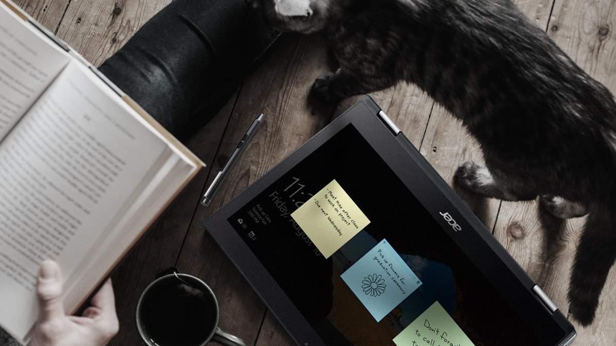 Acer представила в Украине ноутбуки-трансформеры