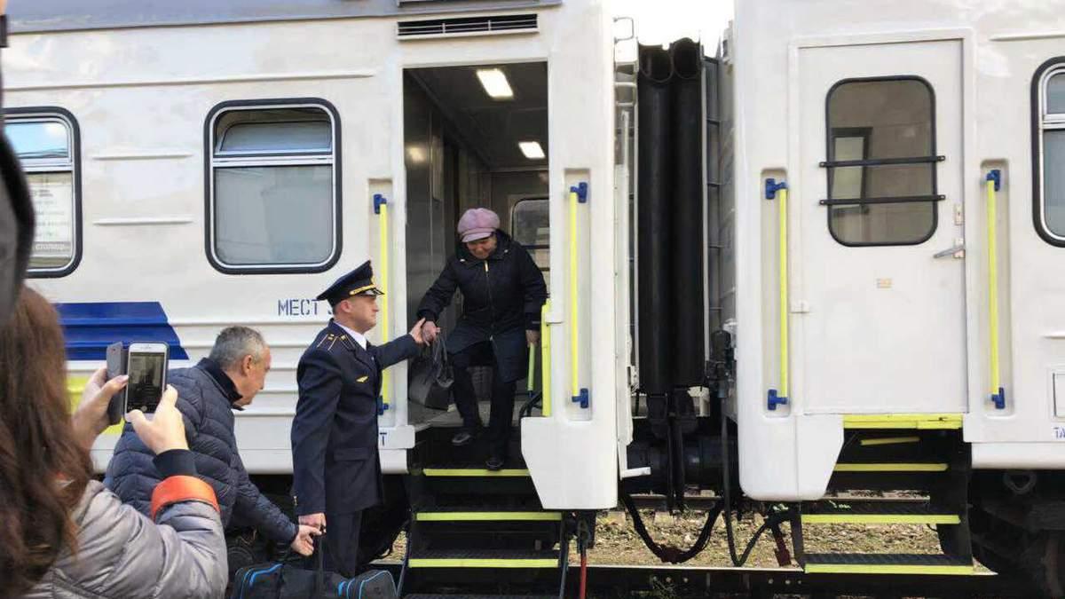 """Поезд """"четырех столиц"""""""