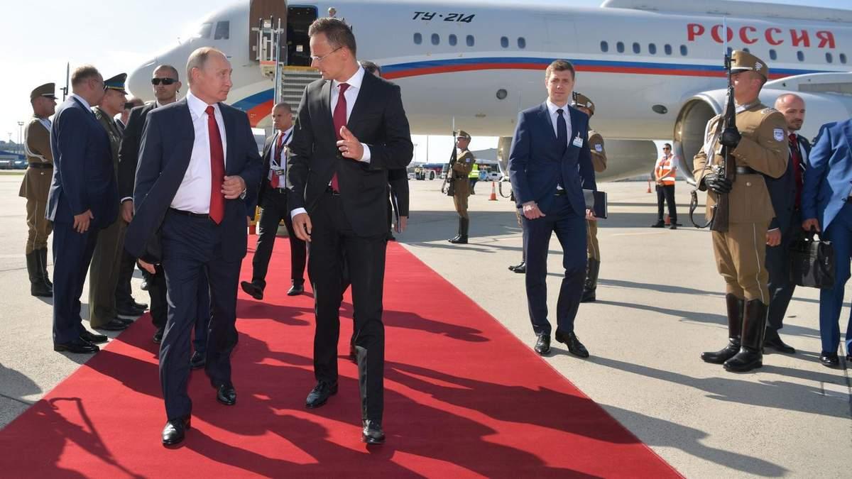 Путін зустрічався із очільником МЗС Угорщини Сійярто напередодні скандалу з угорським паспортами, – Богдан