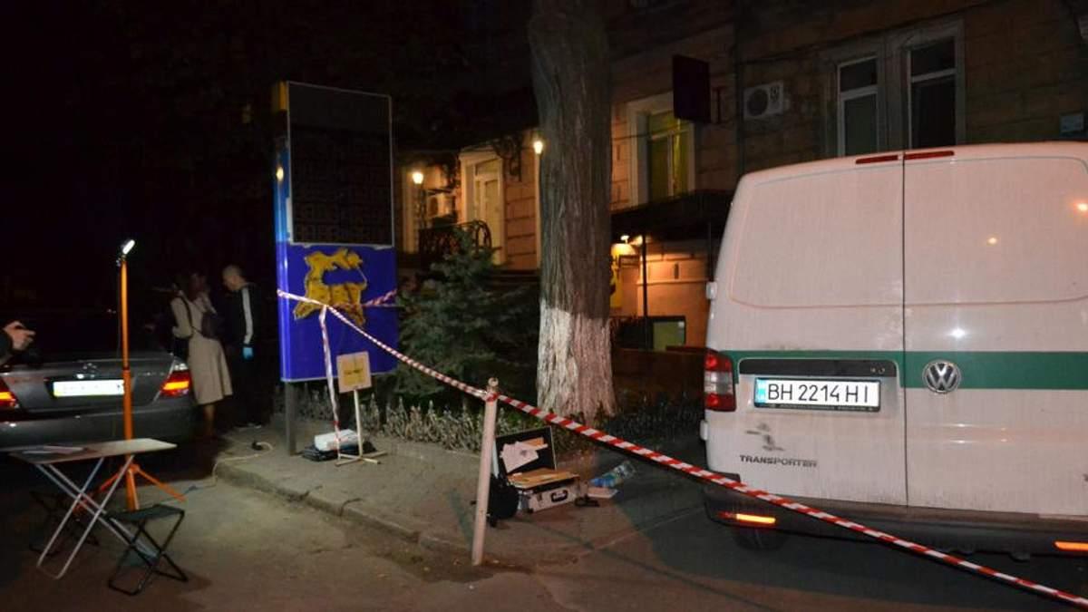 Обнародовано видео момента вооруженного нападения на инкассаторов в Одессе