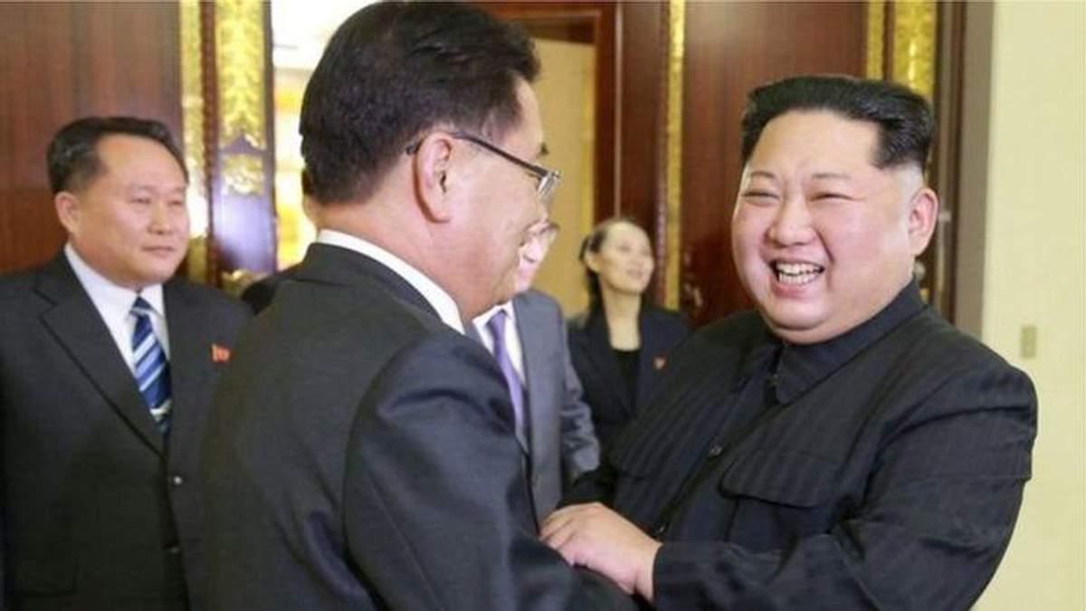 Кім Чен Ин подарував собак колезі із Південної Кореї