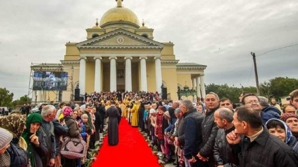 Освятили Спасо-Преображенский собор