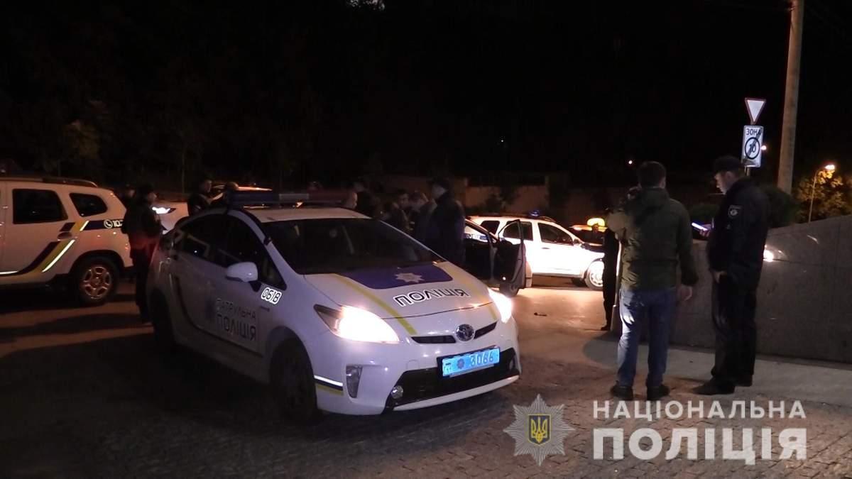 Стрельба в Киеве: полиция просит опознать погибшего нападавшего