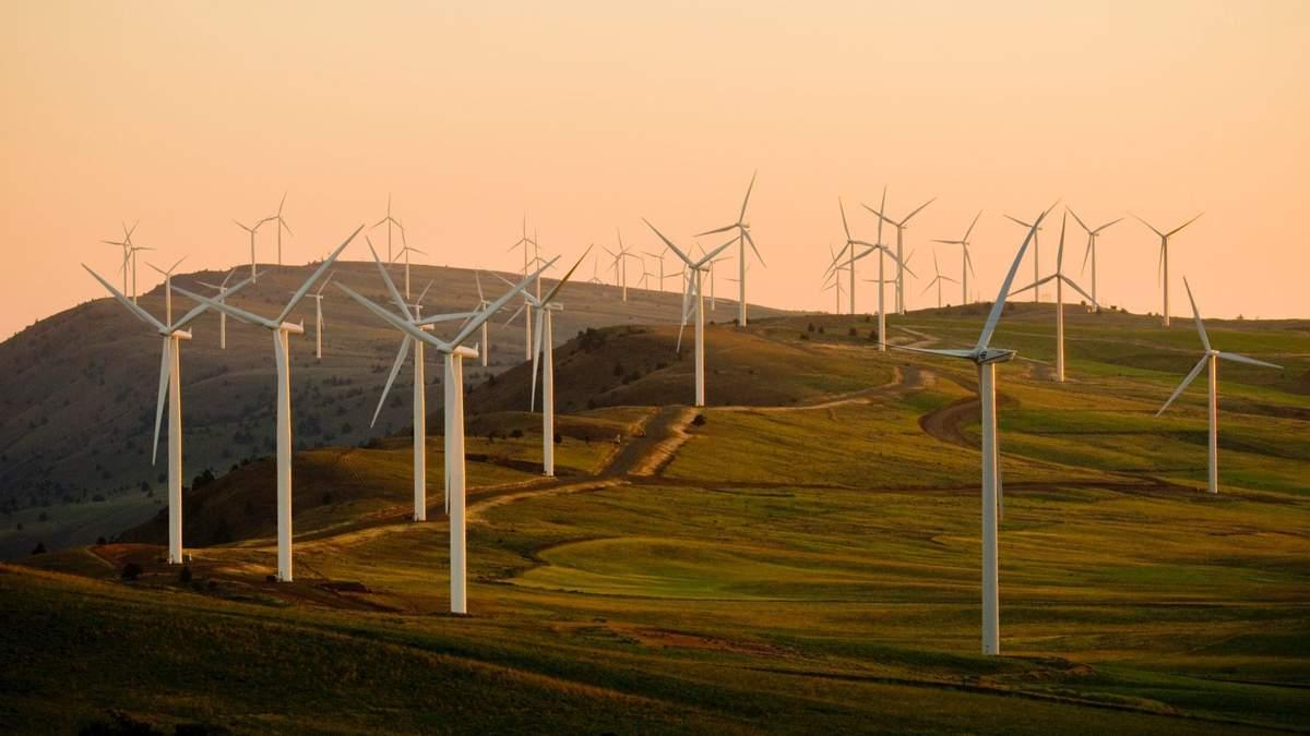 Вітрові електростанції набирають популярності в Україні