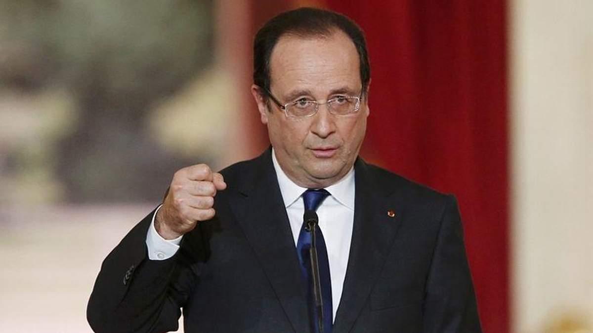 Олланд рассказал, как вернуть единую целостность Украине
