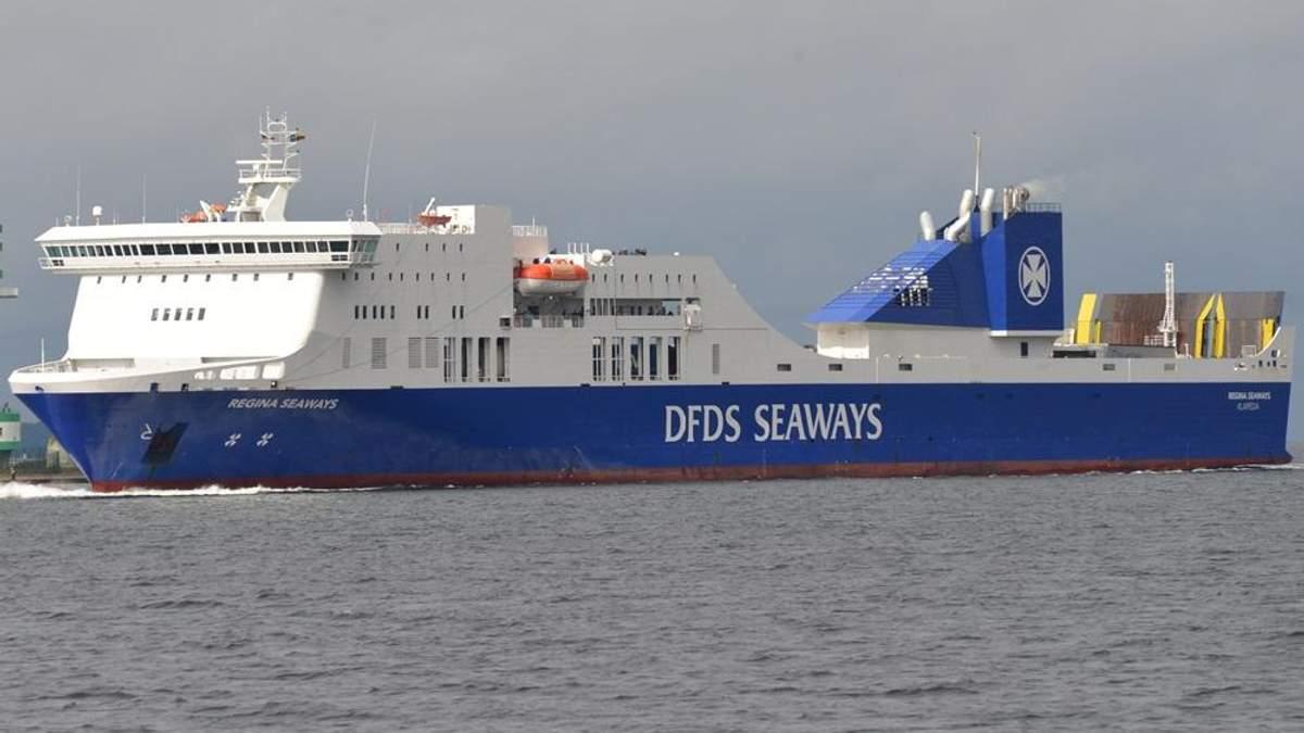 У Балтійському морі вибухнув пором з сотнями пасажирів на борту