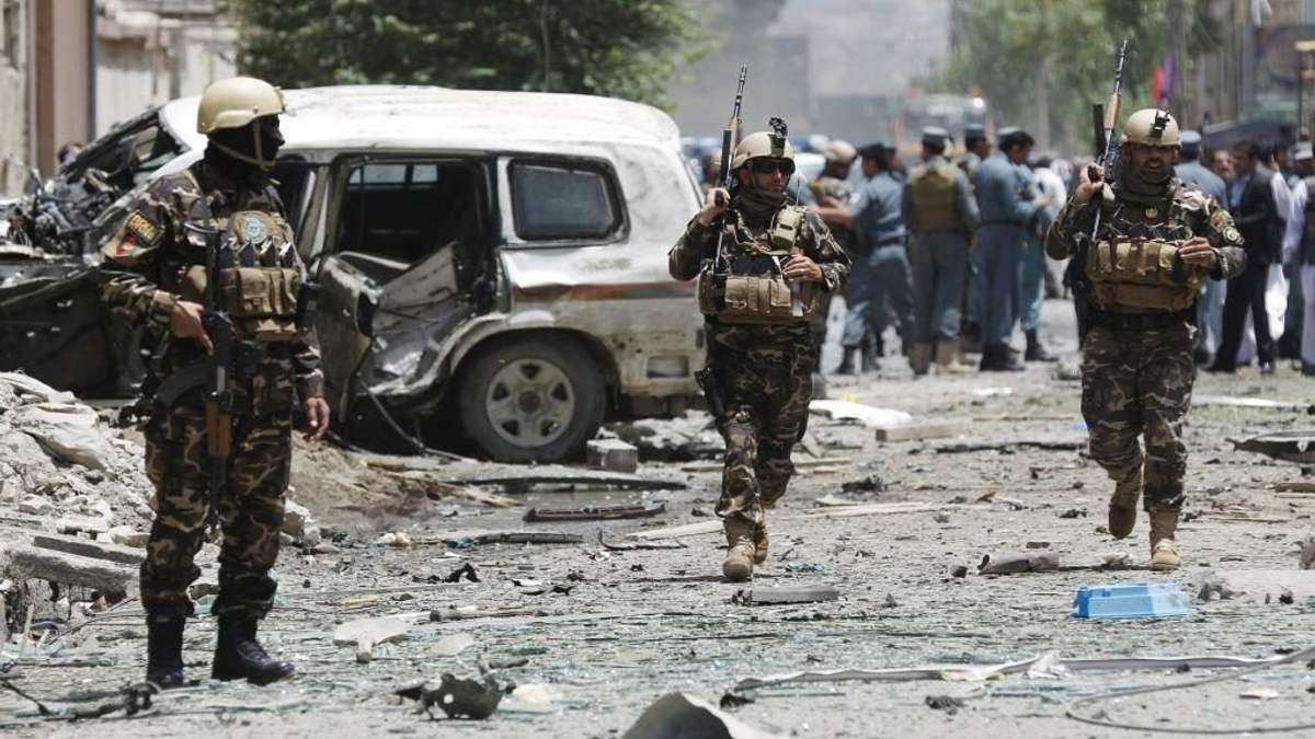 Теракт в Афганистане