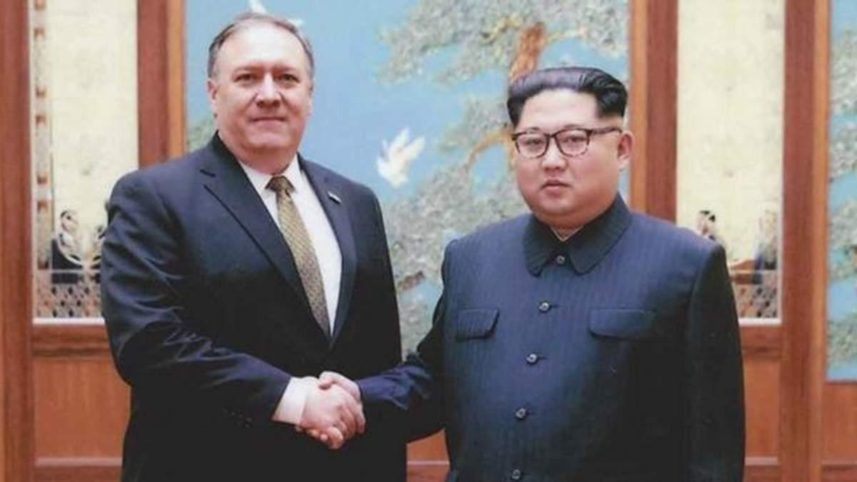 Помпео и Ким Чен Ын встретятся 7 октября
