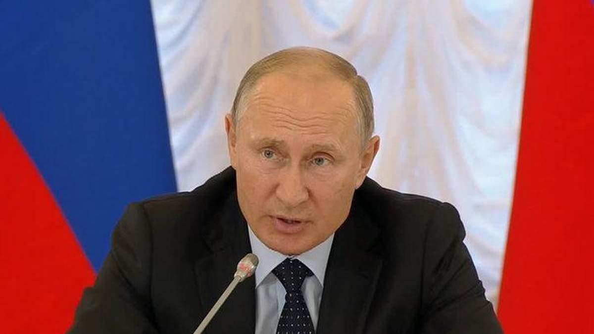 Путин назвал Скрипаля подонком и предателем родины