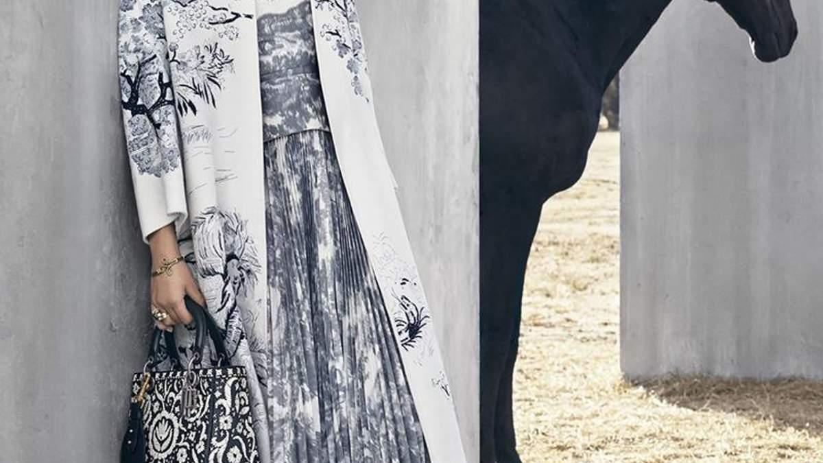 Дженнифер Лоуренс в кампейне Dior cruise 2019