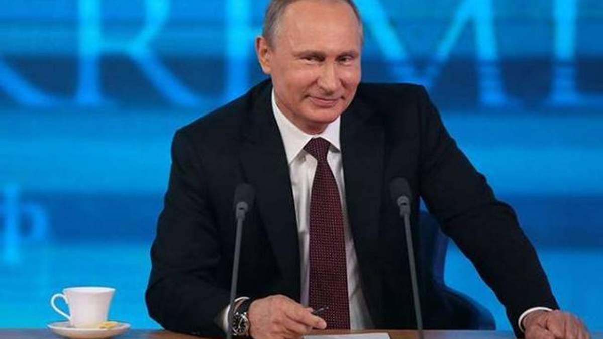 Путин призвал ввести санкции против России