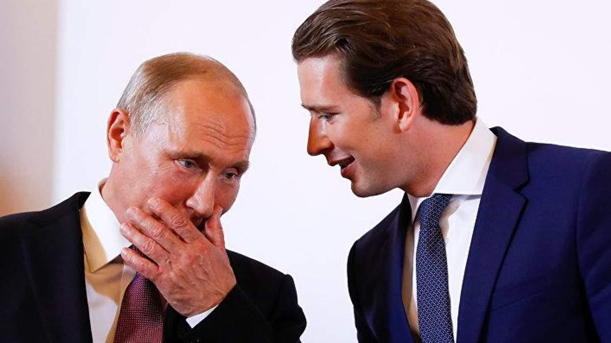 """Канцлер Австрии поддержал строительство """"Северного потока-2"""""""