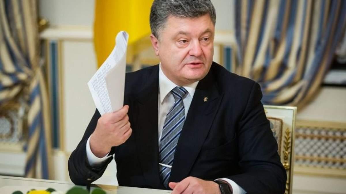 Порошенко підписав продовження закону про особливий порядок на окупованих територіях Донбасу