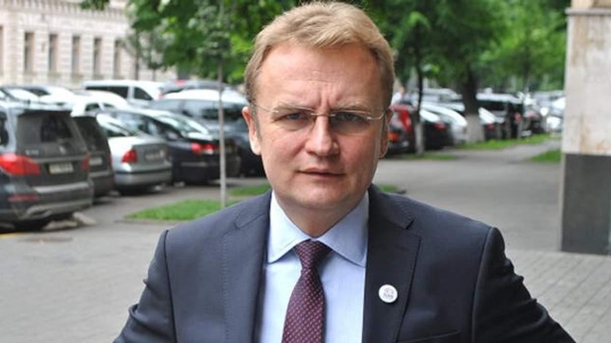 """Садовый осудил нападение на экс-члена """"Самопомощи"""" Гусовского"""