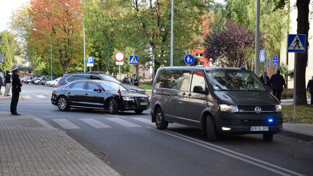 Автомобіль із кортежу президента Польщі збив дитину