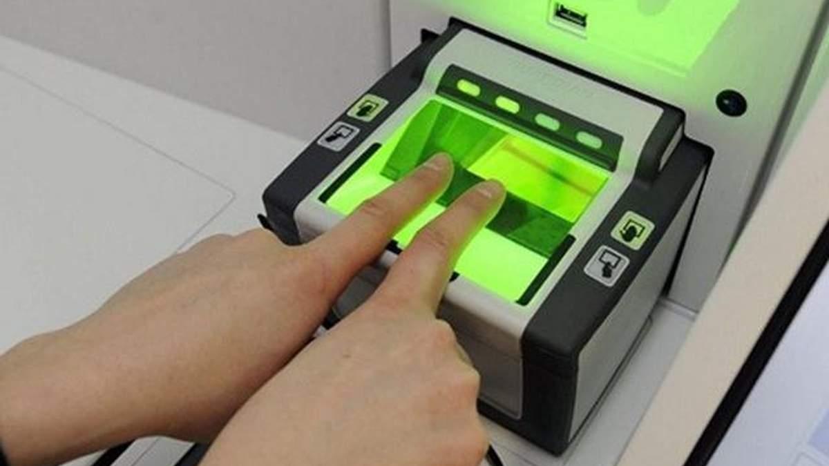Украина может ввести биометрические визы для граждан России