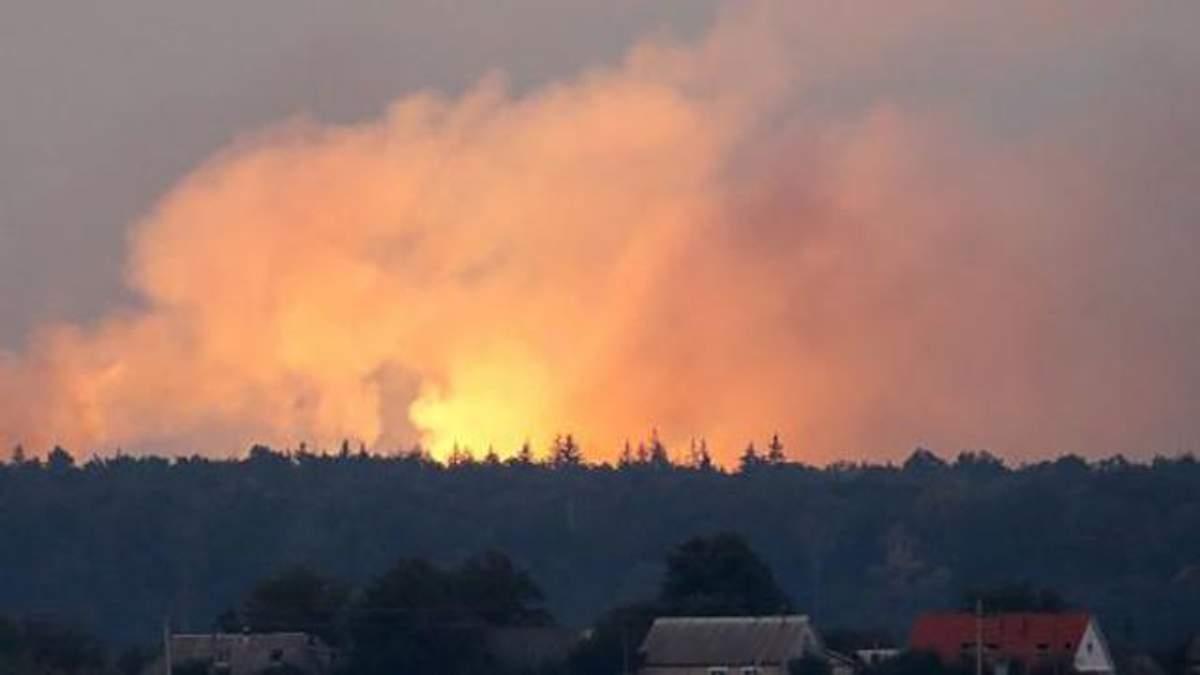 Вибухи на Чернігівщині: у МВС розповіли, чи є постраждалі