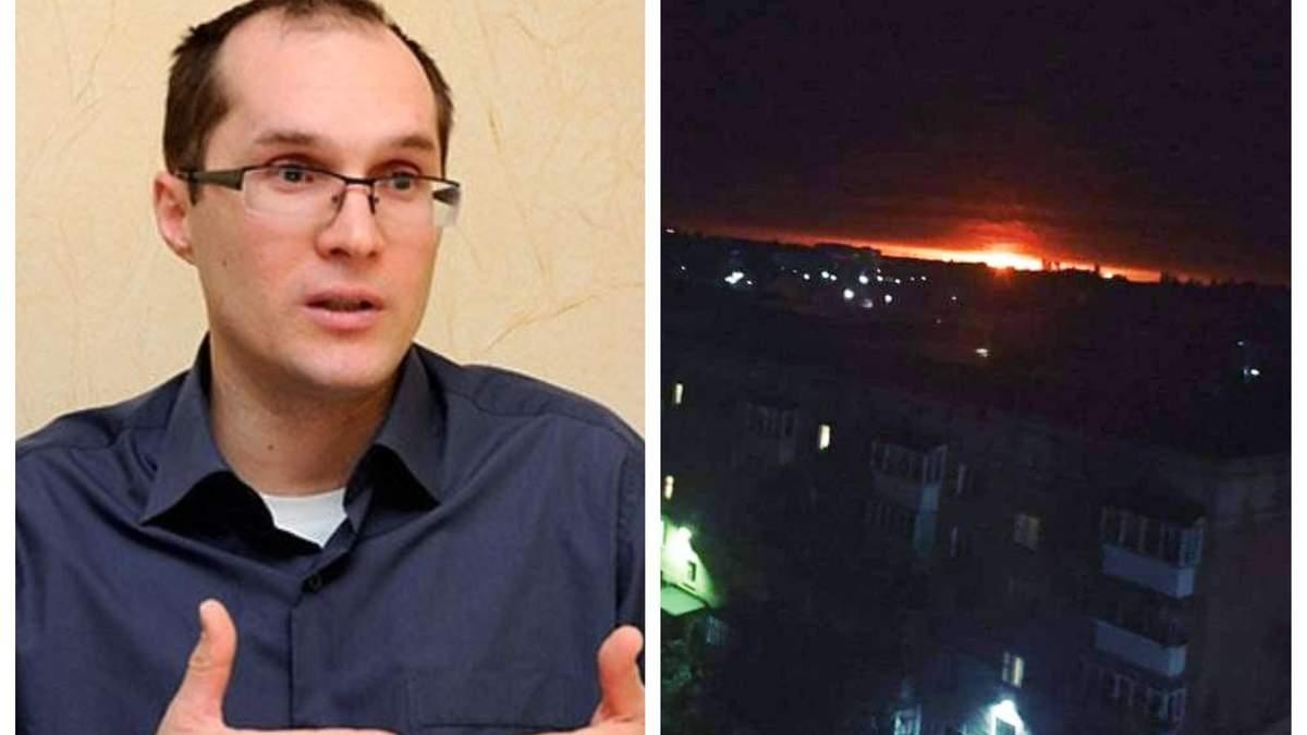 Взрывы на военных складах на Черниговщине – это очередная диверсия России, считает Бутусов