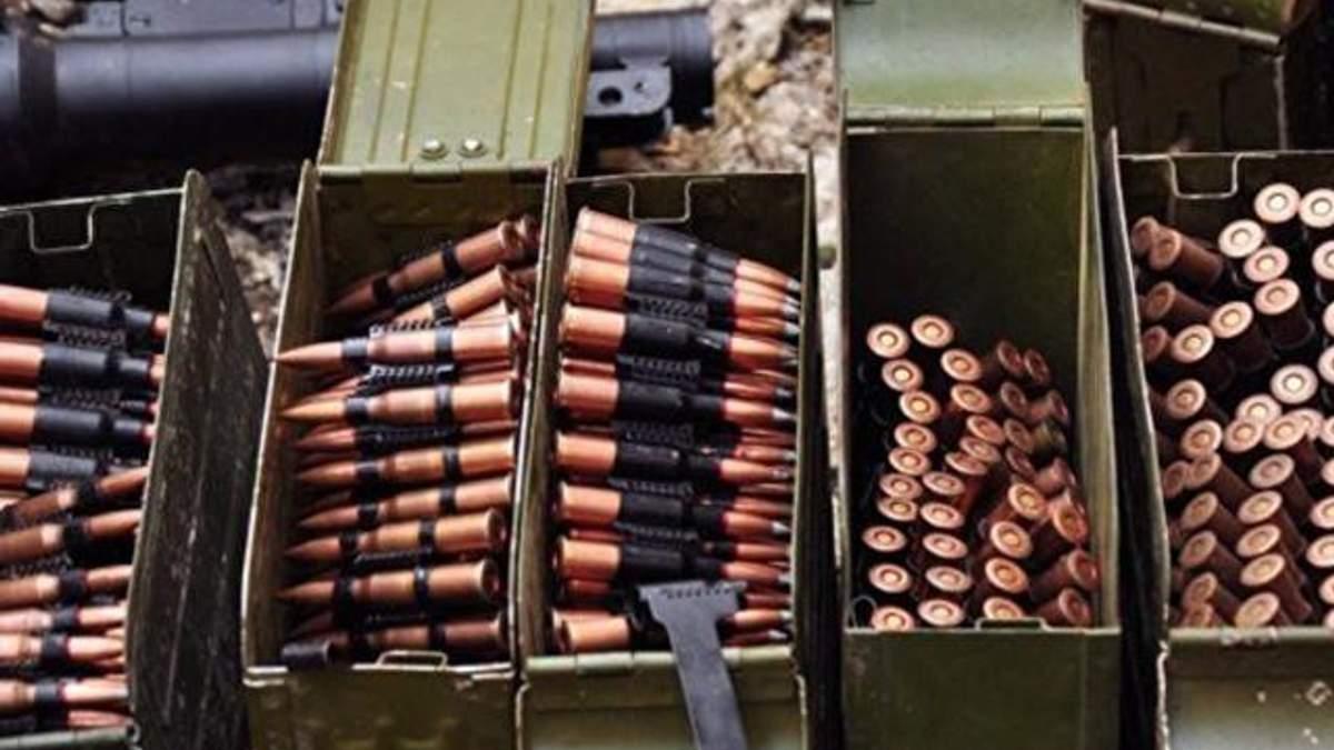 На військових складах на Чернігівщині розміщені 88 тисяч тонн боєприпасів (виправлено)