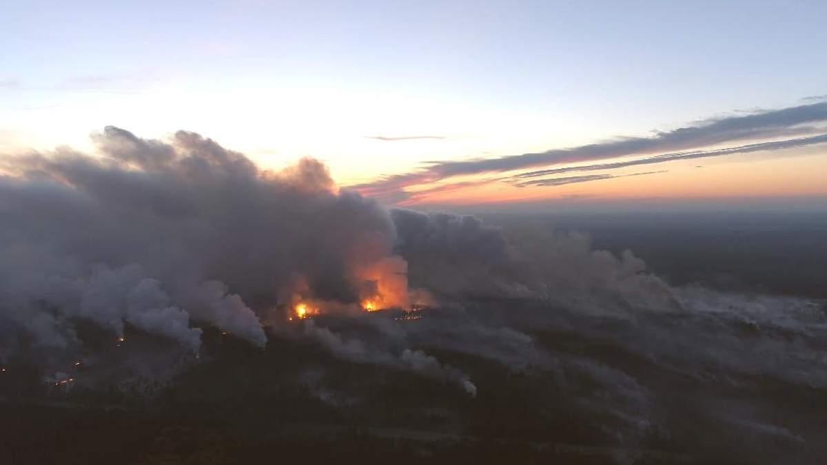 Масштаби вибухів і пожежі біля Ічні