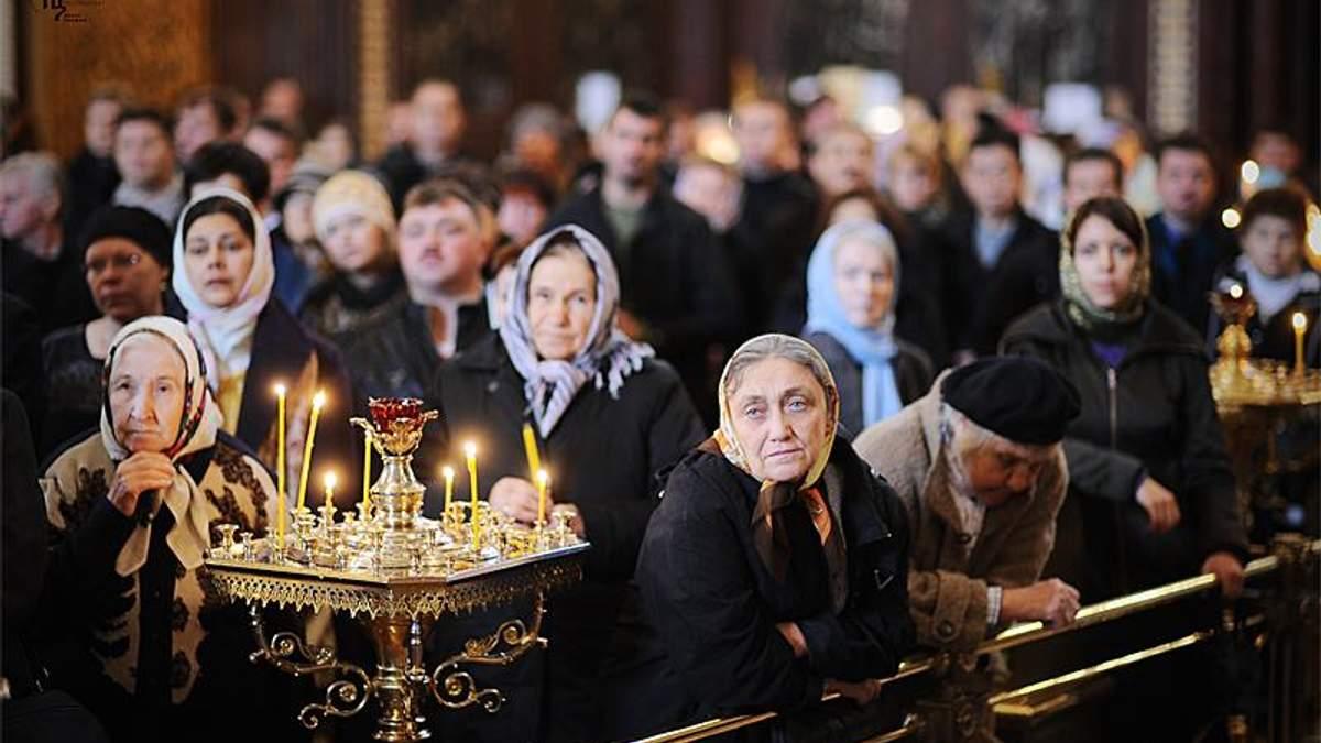 Томос для України: як реагують віряни Московського патріархату