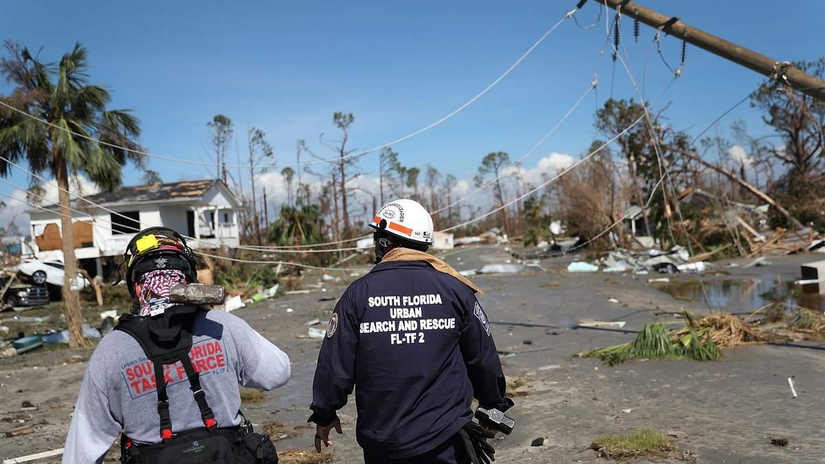 """Ураган """"Майкл"""" накрив східне убережжя США"""