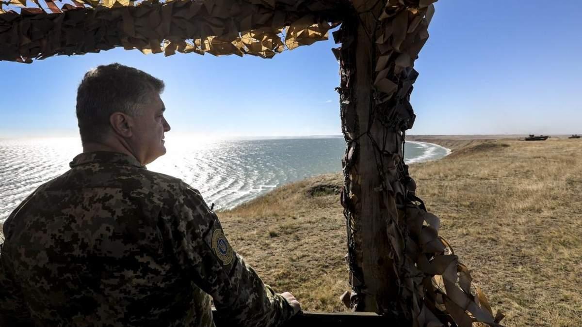 Порошенко ввел в действие решение СНБО о защите Украины в Черном и Азовском морях