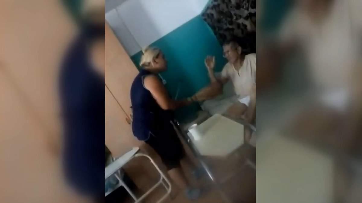 У Харківському пансіонаті для літніх людей санітарка побила пенсіонера