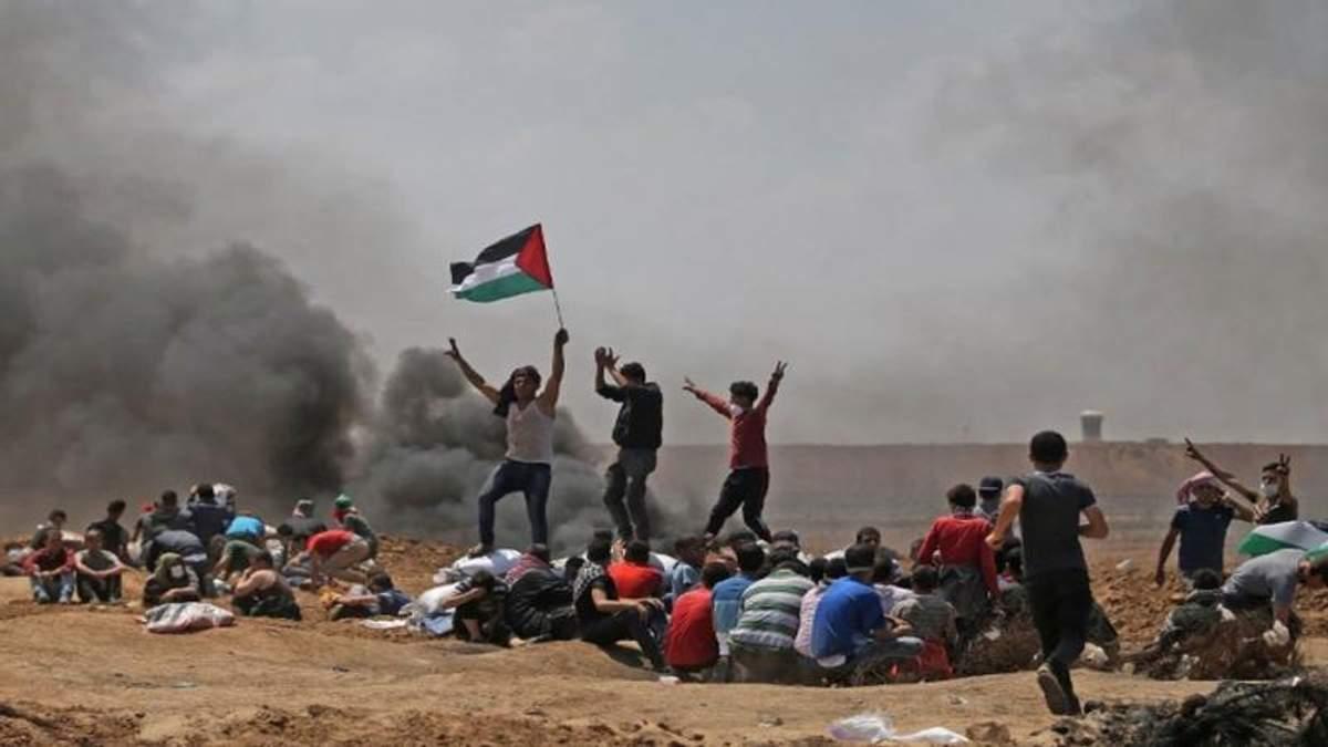 Новые столкновения в секторе Газа