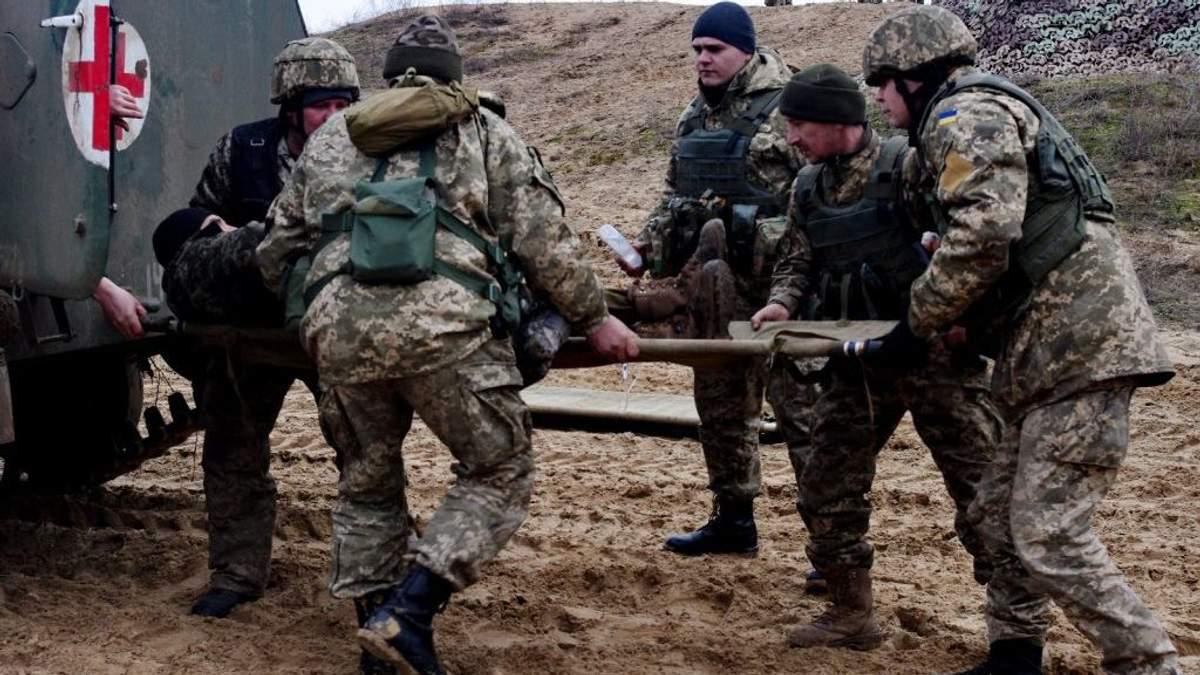 З поля бою на Донбасі повернулися не всі медики