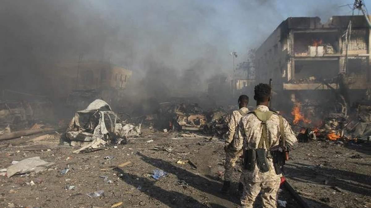 Терракт в Сомали