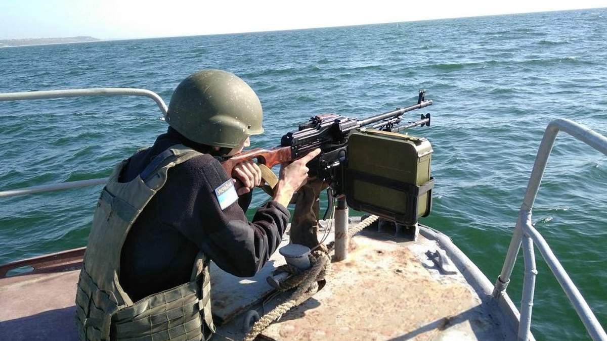 Украина готовится отражать агрессию РФ на Азове