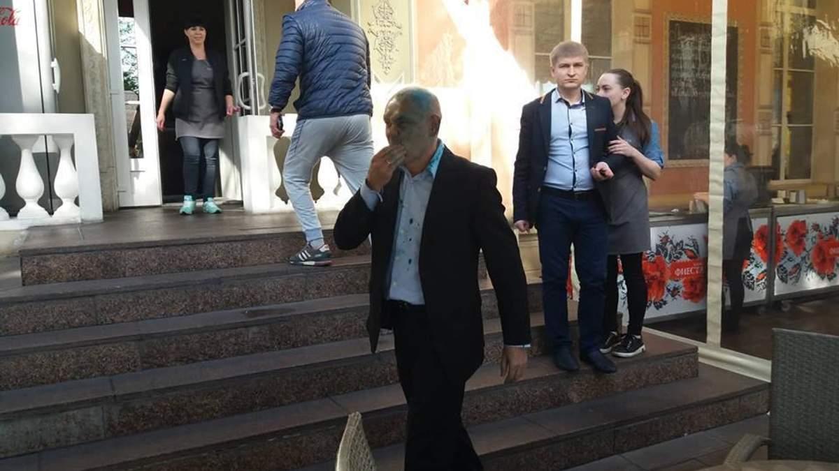 Андрей Иванов в зеленке