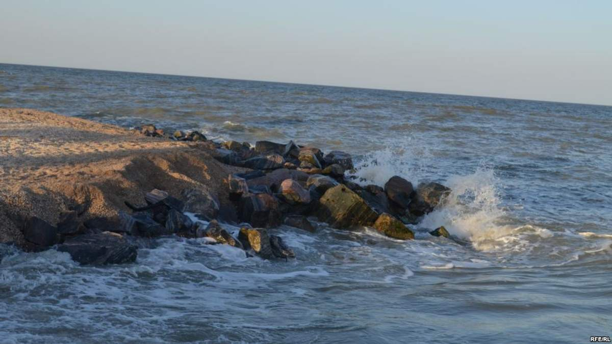 В Азовском море недалеко от Бердянска произошло землетрясение магнитудой 4,3 балла