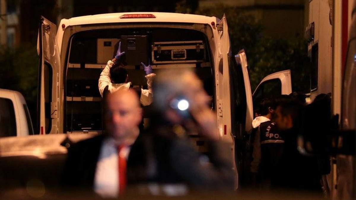 Обыски в посольстве Саудовской Аравии